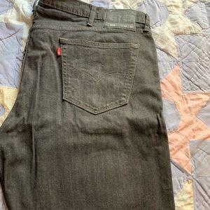 Levi's 559 42W 32L black jeans